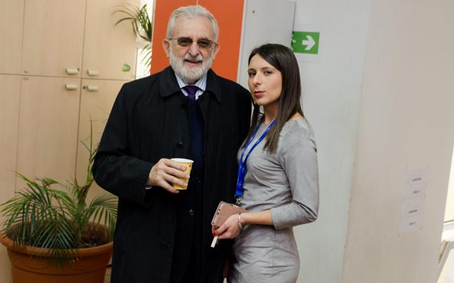 Prof. dr Konstantin Kostić i doc. dr Lena Đorđević